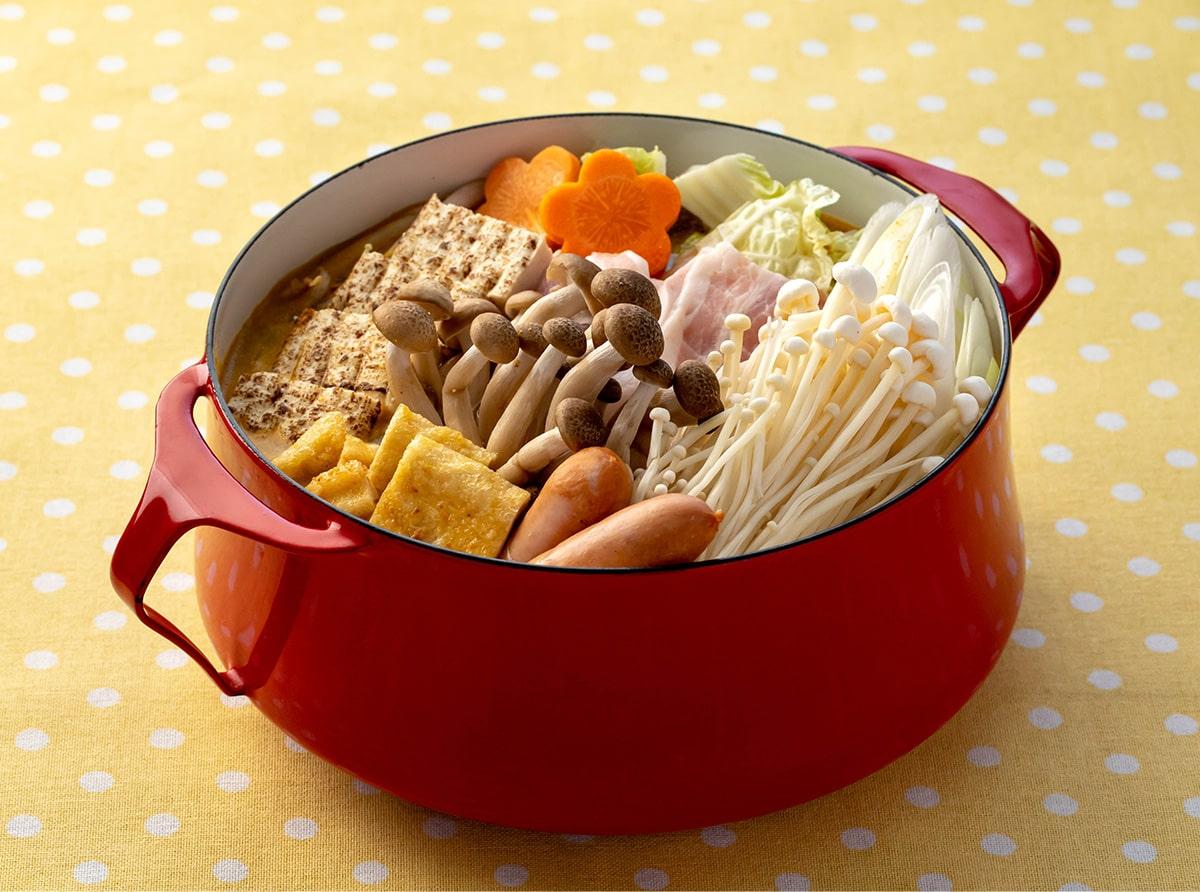 きのこのカレー鍋